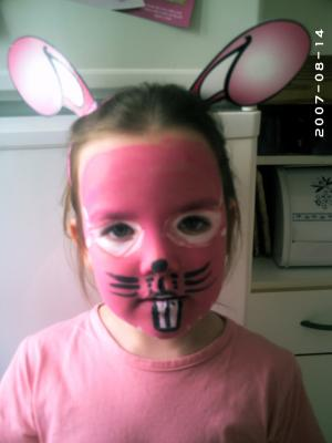 2eme maquillage lapin