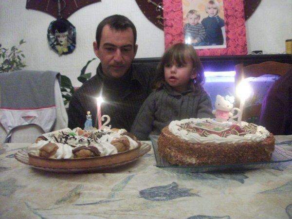 joyeux anniversaire ma chérie ---> 2 ans que le temps passe vite gros bisous maman qui t'aime