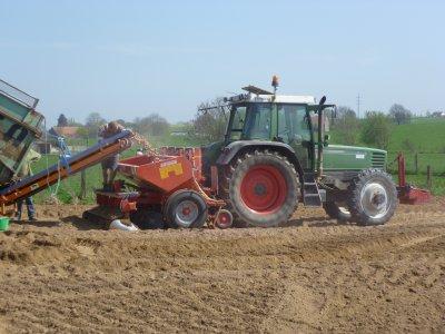 plantage de ptd 2 + préparation des terres