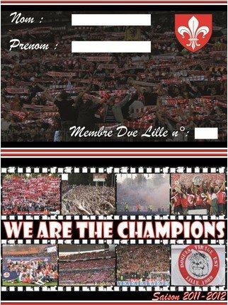 Carte de membre saison 2011/2012: