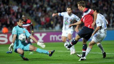 Losc 2-2 CSKA Moscou 14/09/2011 Ligue Des Champions 2011