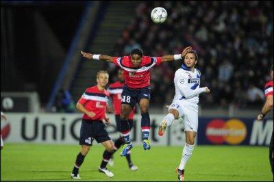 Losc 0-1 Intre Milan ligue des champions 18.10.2011