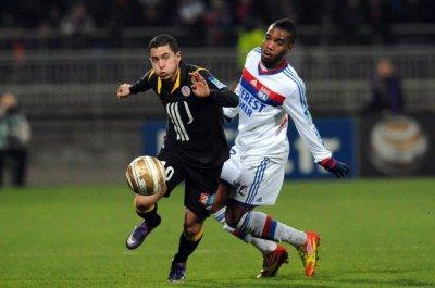 lyon 2-1 losc coupe de la ligue  Quarts de finale 10.01.2012