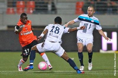 Lorient 0-1 Losc 24 Journée 2011-2012