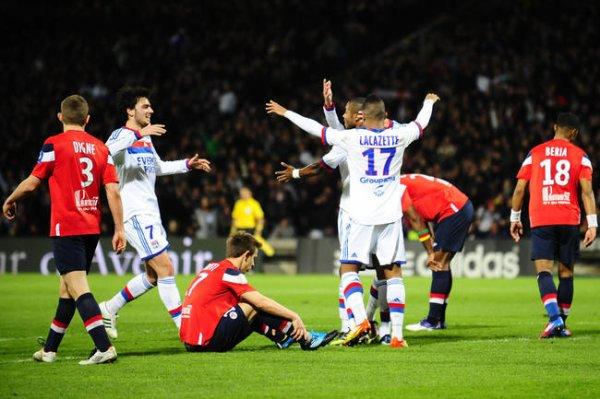Lyon 2-1 Losc  27 Journée 2011-2012