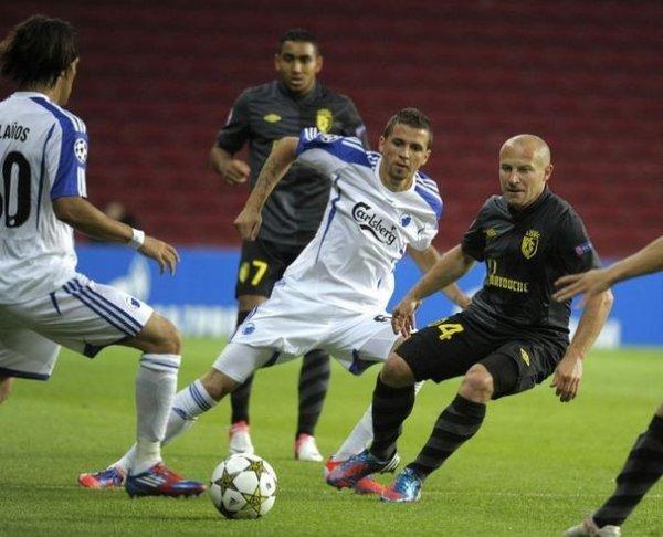 LIGUE DES CHAMPIONS FC Copenhague 1 - 0 Losc 21.08.2012