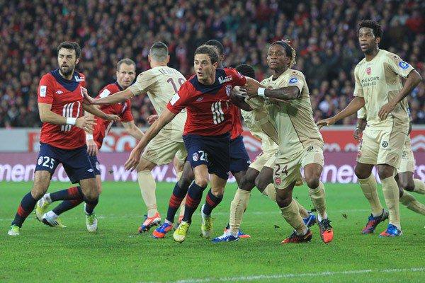 10ère journée LIGUE 1 2012-2013 losc 2-1 Valenciennes