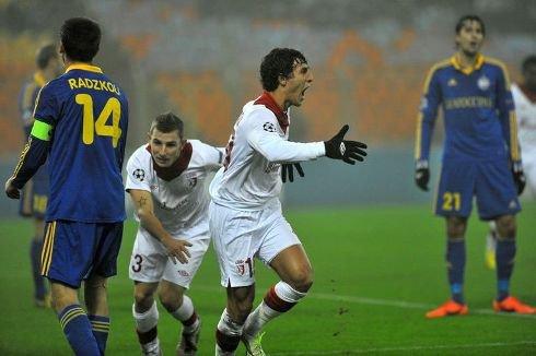 BATE Borisov 0-2 Losc Ligue des Champions 20.11.2012