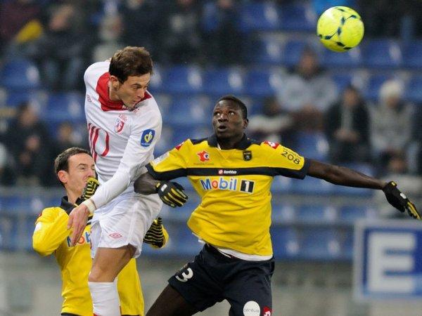 16ère journée LIGUE 1 2012-2013 Sochaux 1-1 Losc