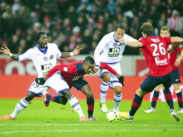 17ère journée LIGUE 1 2012-2013 Losc 2-0 Toulouse