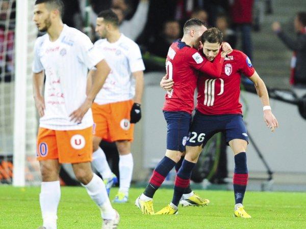 19ère journée LIGUE 1 2012-2013 Losc 4-1 Montpellier