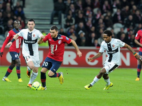 25ère journée LIGUE 1 2012-2013 Losc 2-0 Rennes