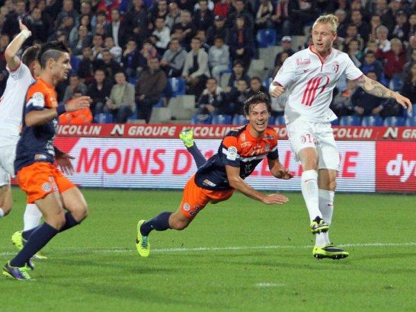 10 ère journée LIGUE 1 2013-2014 Montpellier 0-1 Losc