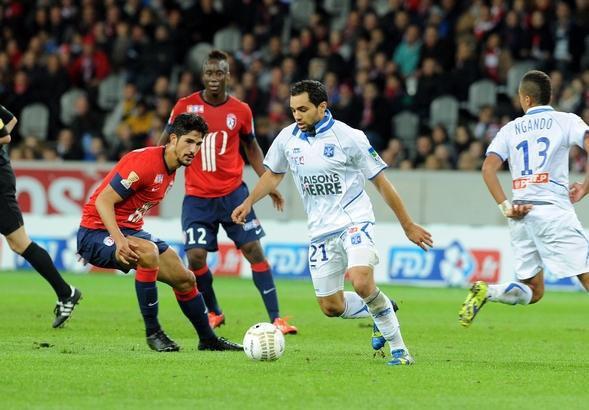 16es de finale COUPE DE LA LIGUE 2013-2014 Losc 0-1 Auxerre