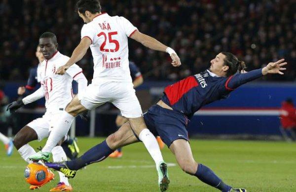 18 ère journée LIGUE 1 2013-2014 Paris 2-2 Losc