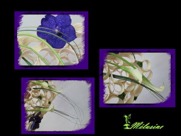 Bouquet de mariée manchon