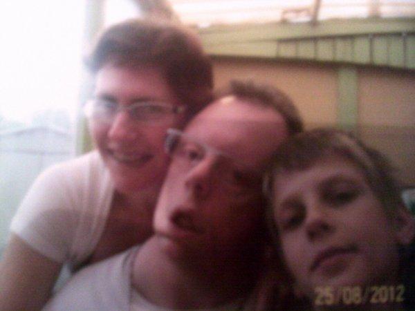 moi    et   mon copin  et nicolas