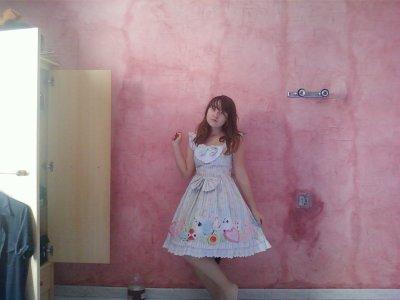 Ma première robe sweet lolita !!!!!! <3