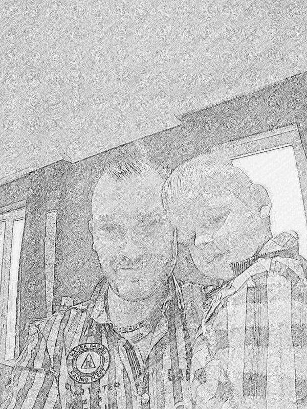 Mon fils mon bonheur mon univers