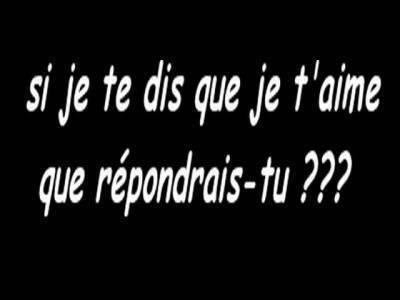 La question qui tue ...