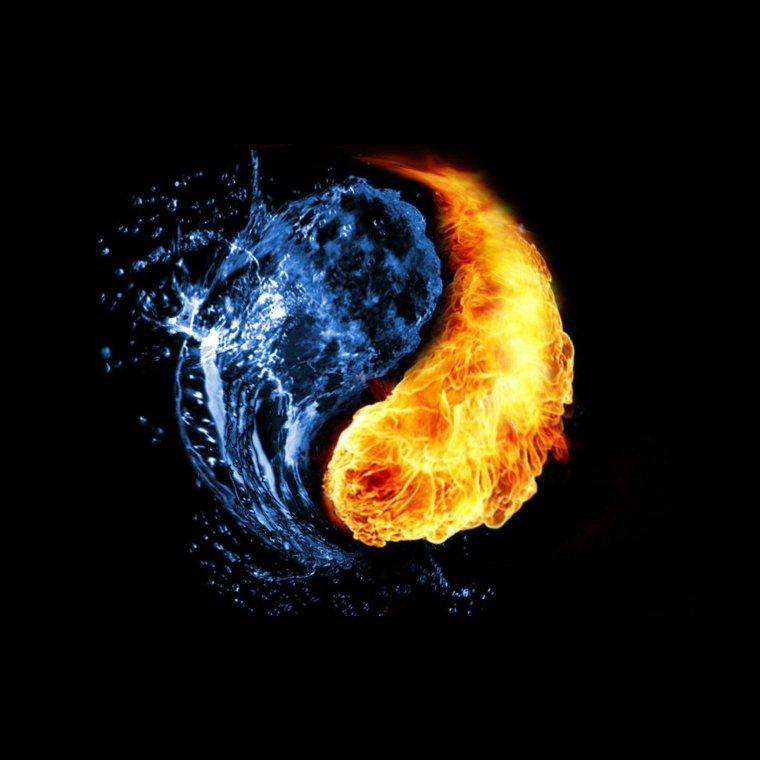 Le feu c'est moi l'eau c'est toi ! le calme c'est toi la furie c'est moi ! ♥ je t'aime ma lily ! ♥