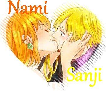 Sanji x Nami