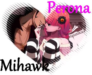 Mihawk x Perona