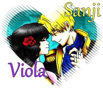 Sanji x Viola