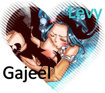 Gajeel x Levy