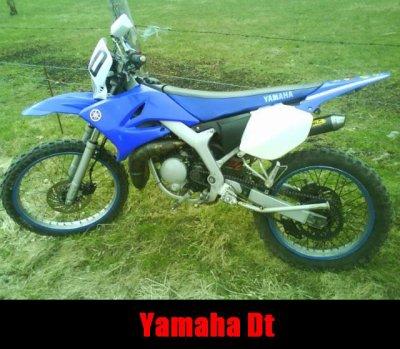 La yamaha dt a arnaud avant son accident :(