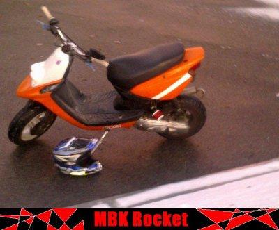 Le MBK rocket a guillaume