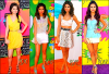 Selena Gomez lors des KCA de 2010 à 2013