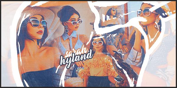 • • Découvrez et suivez l'actualité au quotidien de l'actrice américaine Sarah Hyland sur ─ SarahHyland.  À travers divers articles relatant sa vie de tous les jours, suivez jours après jours le quotidien de la jeune américaine Sarah J. Hyland.