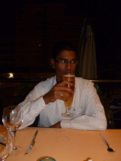 Une bonne bière glacé hummm rien de mieux pour débuter une soirée....