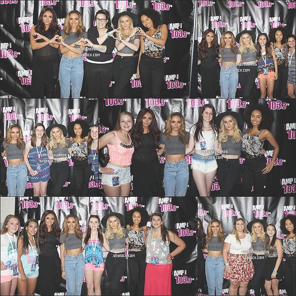 . 16 / 06 / 14 : Les Little Mix ont posés avec leur fans juste après avoir donné concert à Boston. Elles se sont rendus ensuite à New York, après avoir performé à Boston aux Etats-Unis. .