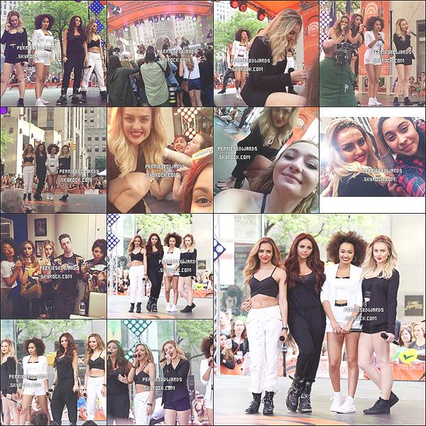 """. 17 / 06 / 14 : Les Little Mix ont donné concert au """" NBC """" aux États-Unis. Elles se sont rendus par la suite à la radio de Sirius à NY & ensuite elles se sont présentés sur le show. ."""