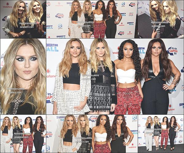 . 21 / 06 / 14 : Les Little Mix se sont rendus au Capital Summertime Bash au UK. Toujours aux UK, les filles toutes magnifiques ont performés au Summertime Bash.  .