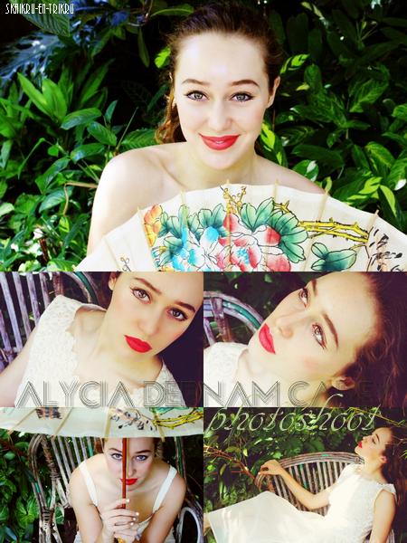 photoshoot magnifique d'Alycia
