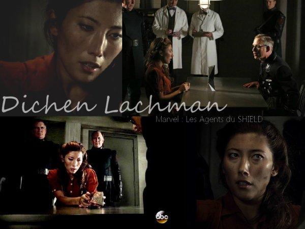 Dichen Lachman dans Marvel : Les Agents du SHIELD (Saison 2)