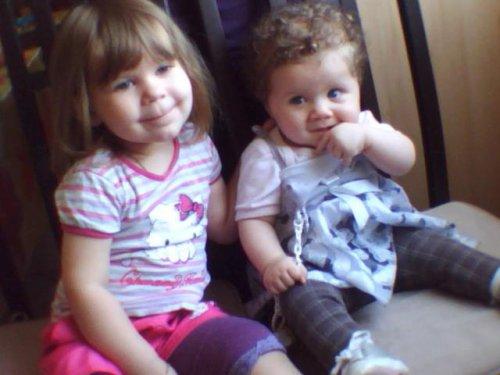 mes filles et ma soeur lalya