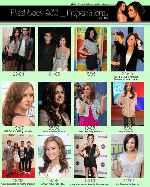 Article complet sur l'année 2010.