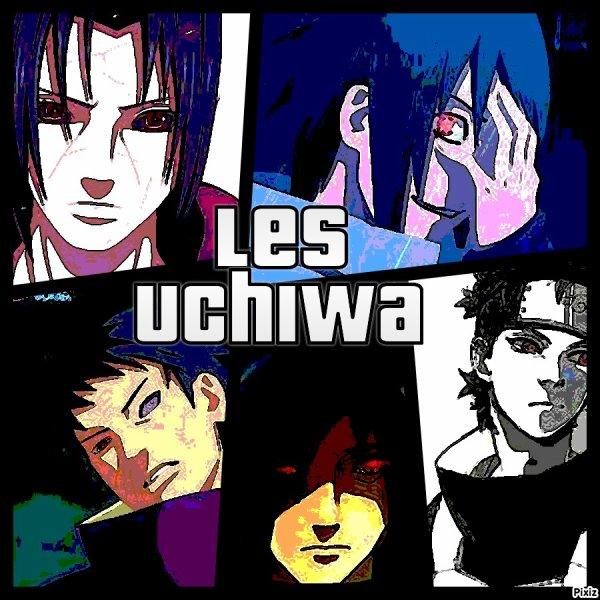 Obito,Madara,Shisui,Sasuke,Itachi.
