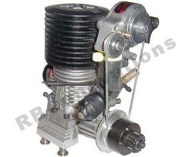 moteur voiture thermique avec compresseure