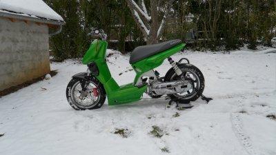 bon allez tit série de photo sous la neige