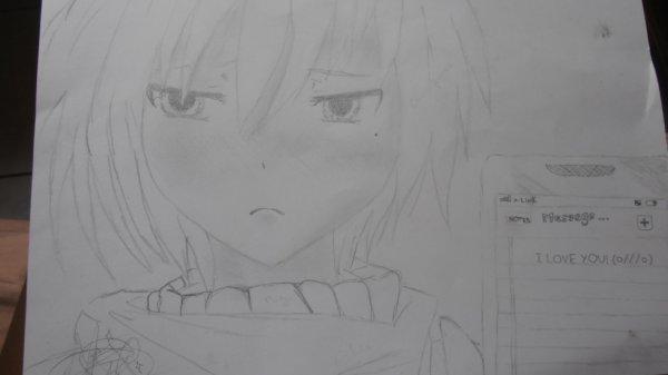 mon tout dernier dessin du mois ^^♥