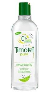 Shampoing Timotei pour cheveux regressant vite.