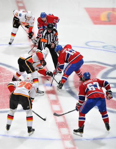 Habs Vs  Flames  (Victoire en Prlongation) 5-4