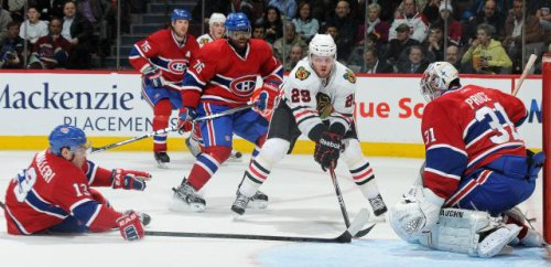 Blackhaws Vs Habs (Vic) 1-2 Pronlongation  05 avril 2011