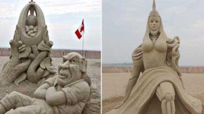 De sculture de Sable