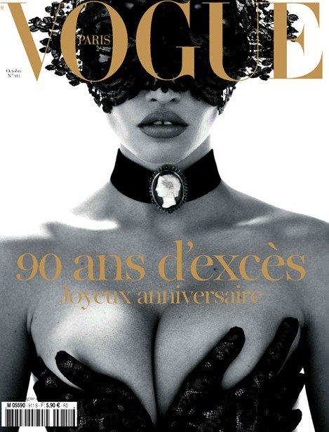 Couverture spécial 90 ans Vogue Paris